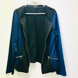 Black and Blue Blazer. Perfect Condition. Size M